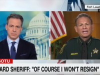Broward Sheriff's Bizarre Remarks When Asked If His Department Could Have Done Things Differently