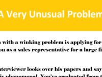 Hilarious: A Very Unusual Problem